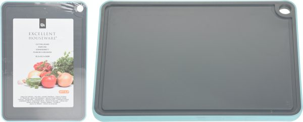 Snijplank anti-slip kunststof 323x232x9mm