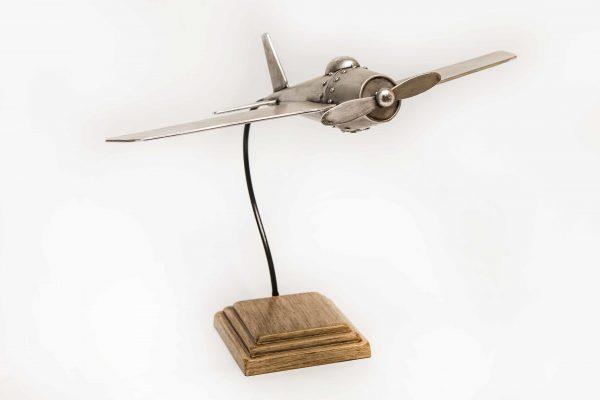 Decoratie vliegtuig 50x45x40cm