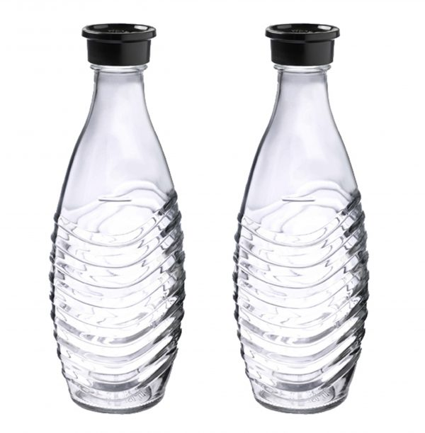 Sodastream Glazen karaf Duopack 1ltr Waterkan Transparant