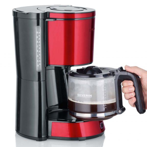 Severin KA4817 Koffiefilter apparaat Rood