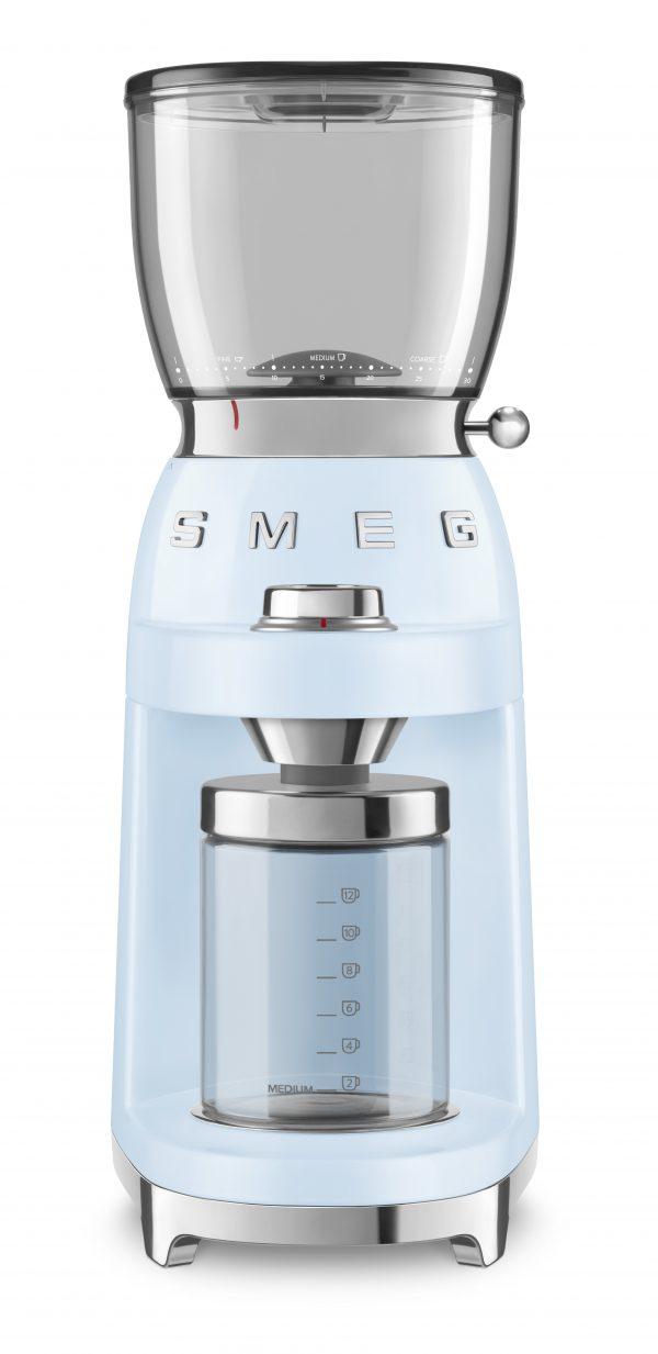 Smeg CGF01PBEU Koffiemolen Blauw