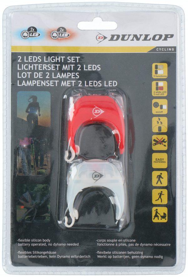 Fietslampen set incl 2xCR2032