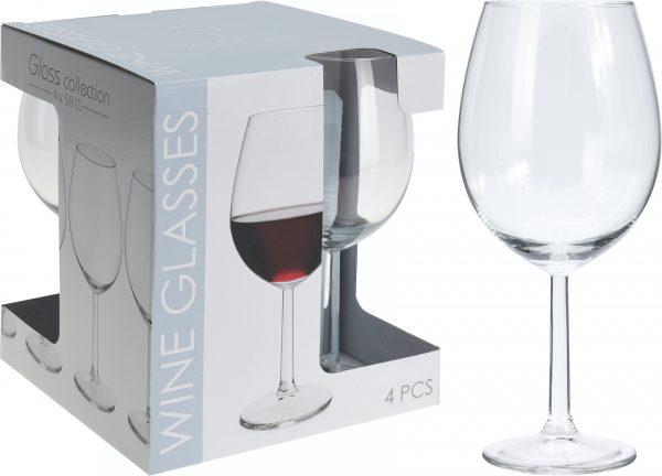 Wijnglas 580ml 4 stuks