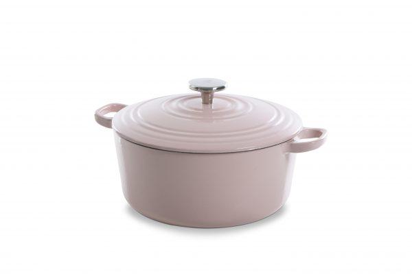 BK Bourgogne braadpan 28 cm dusky pink