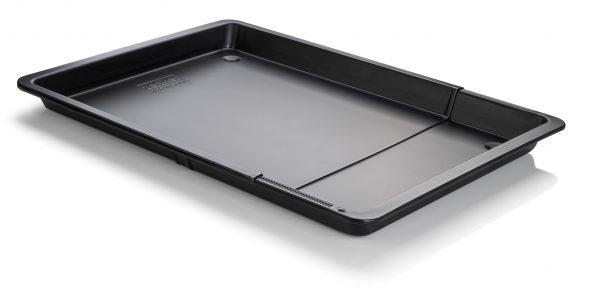 Zenker bakplaat universeel verstelbaar black metallic 37-52x33x3cm